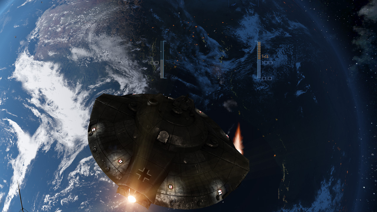 Iron Sky Invasion: Meteorblitzkrieg screenshot