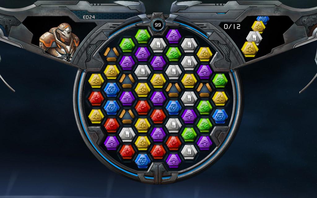 Puzzle Quest: Galactrix screenshot