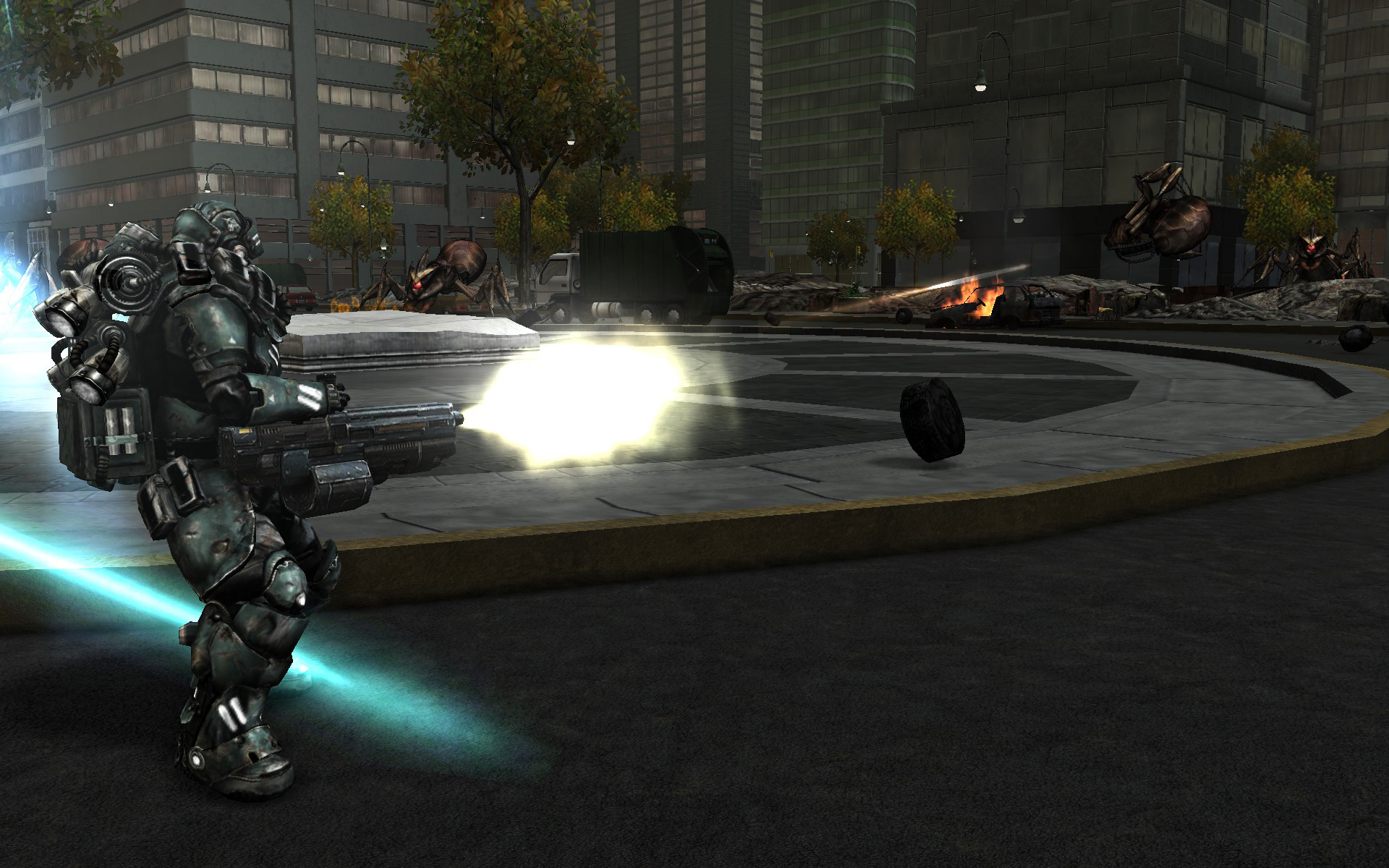 Earth Defense Force Battle Armor Weapon Chest screenshot