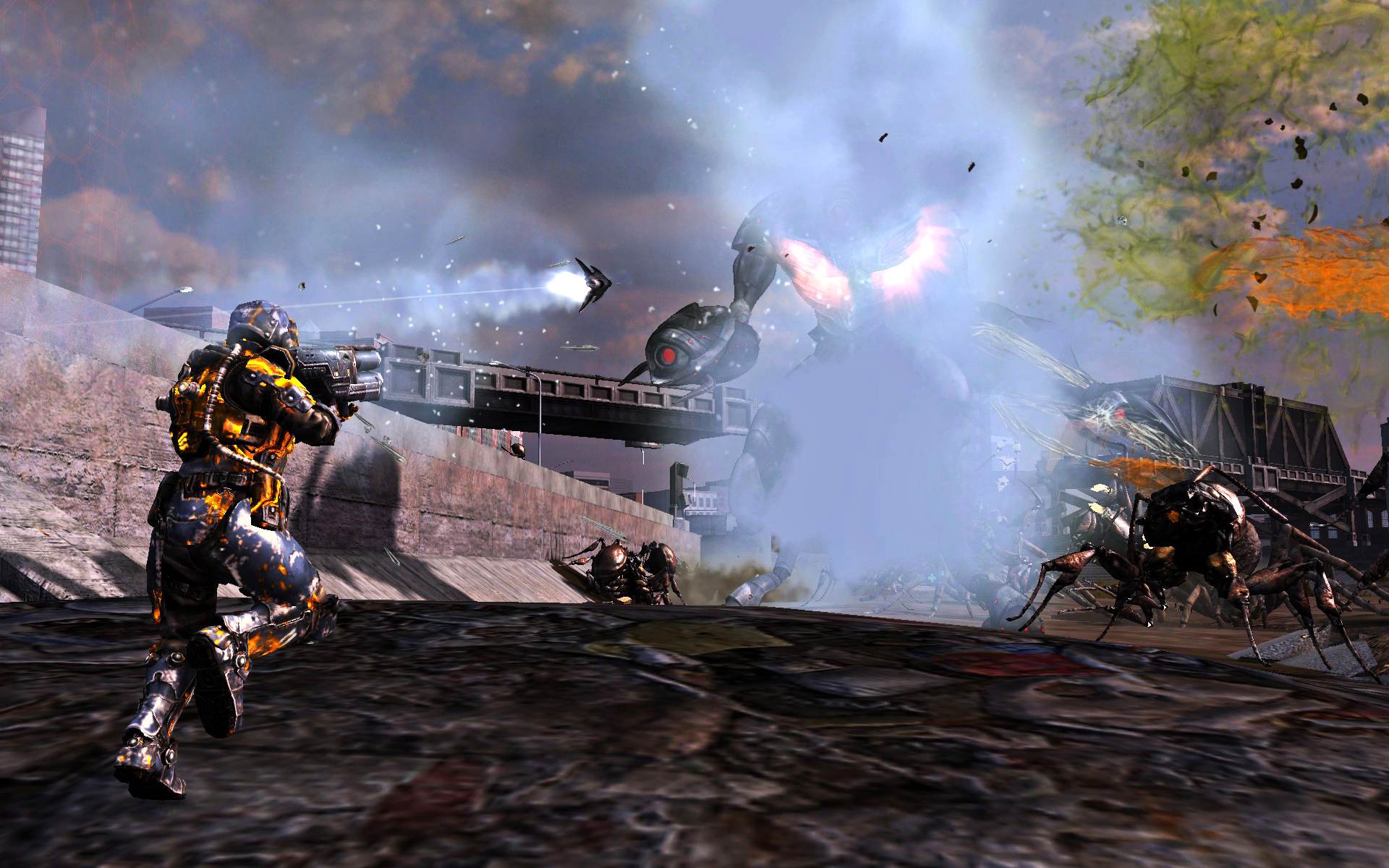 Earth Defense Force Tactician Advanced Tech Package screenshot