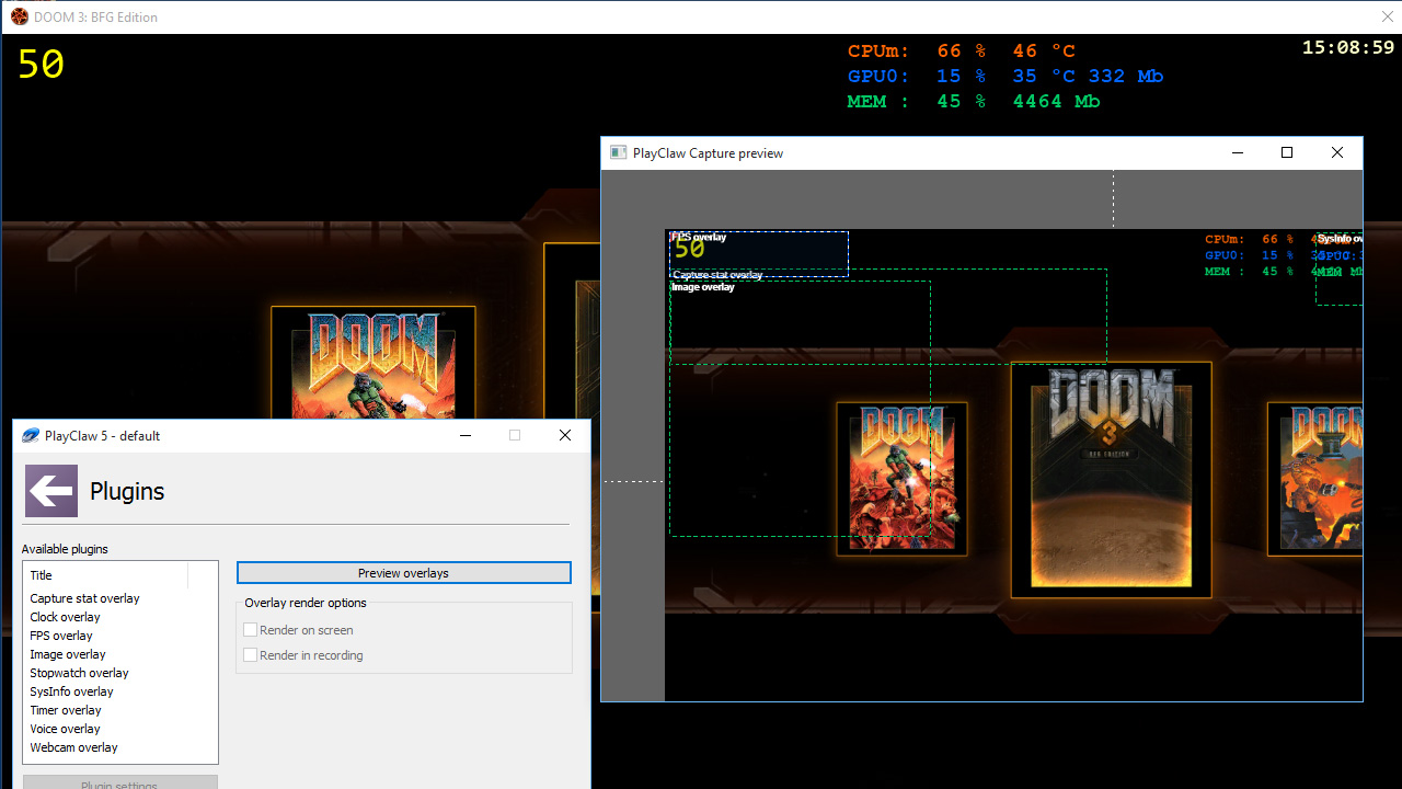 PlayClaw 5 - Game Recording and Streaming screenshot