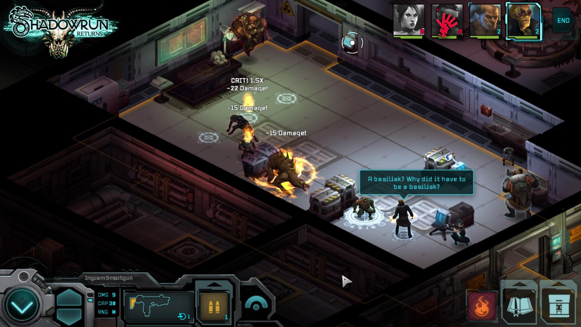 Shadowrun Returns Deluxe DLC screenshot