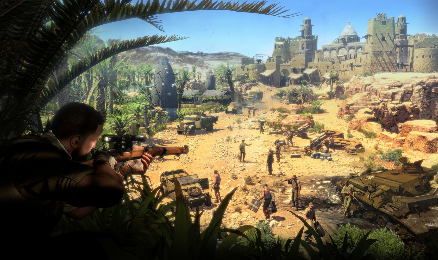 Download Game PC Sniper Elite 3 Update V1.04