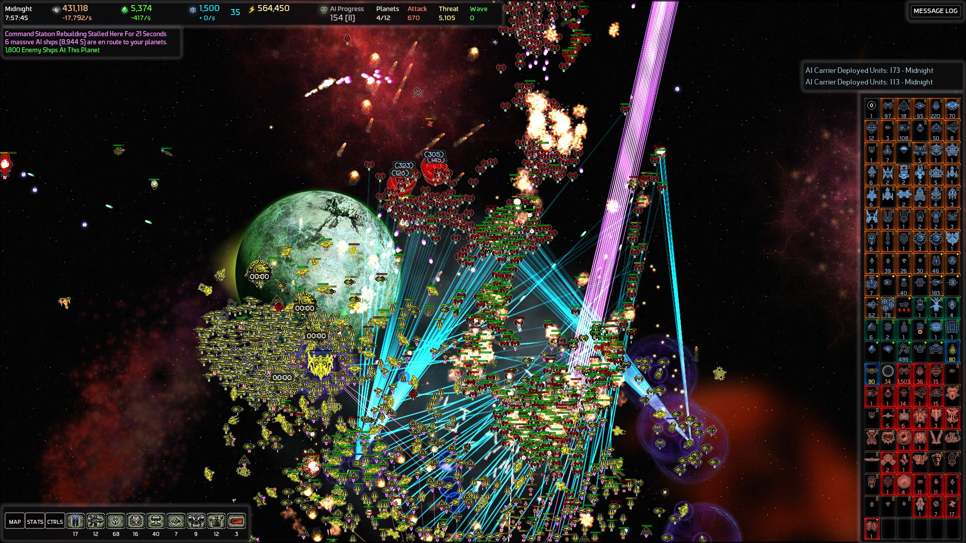 AI War: Vengeance Of The Machine screenshot