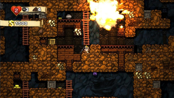 Spelunky is one of the best Chromebook games. It's a platformer with retro-style gameplay.