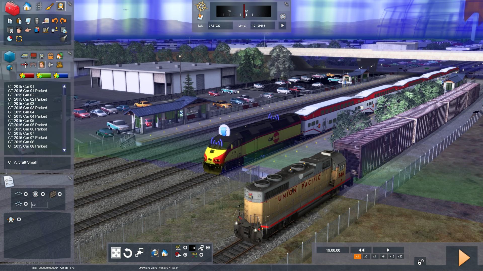 Train Simulator screenshot