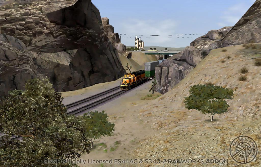 Train Simulator: BNSF ES44AC & SD40-2 Loco Add-On screenshot