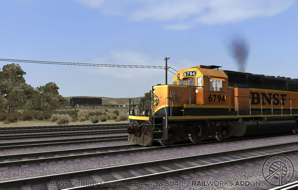 Train Simulator: BNSF ES44AC & SD40-2 Loco Add-On screenshot