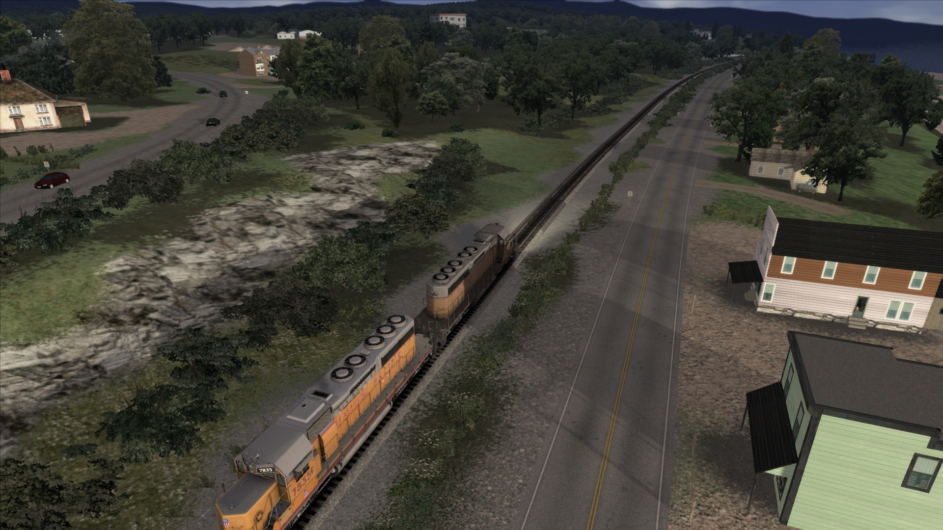 Train Simulator: Fort Kent to Eagle Lake Route Add-On screenshot