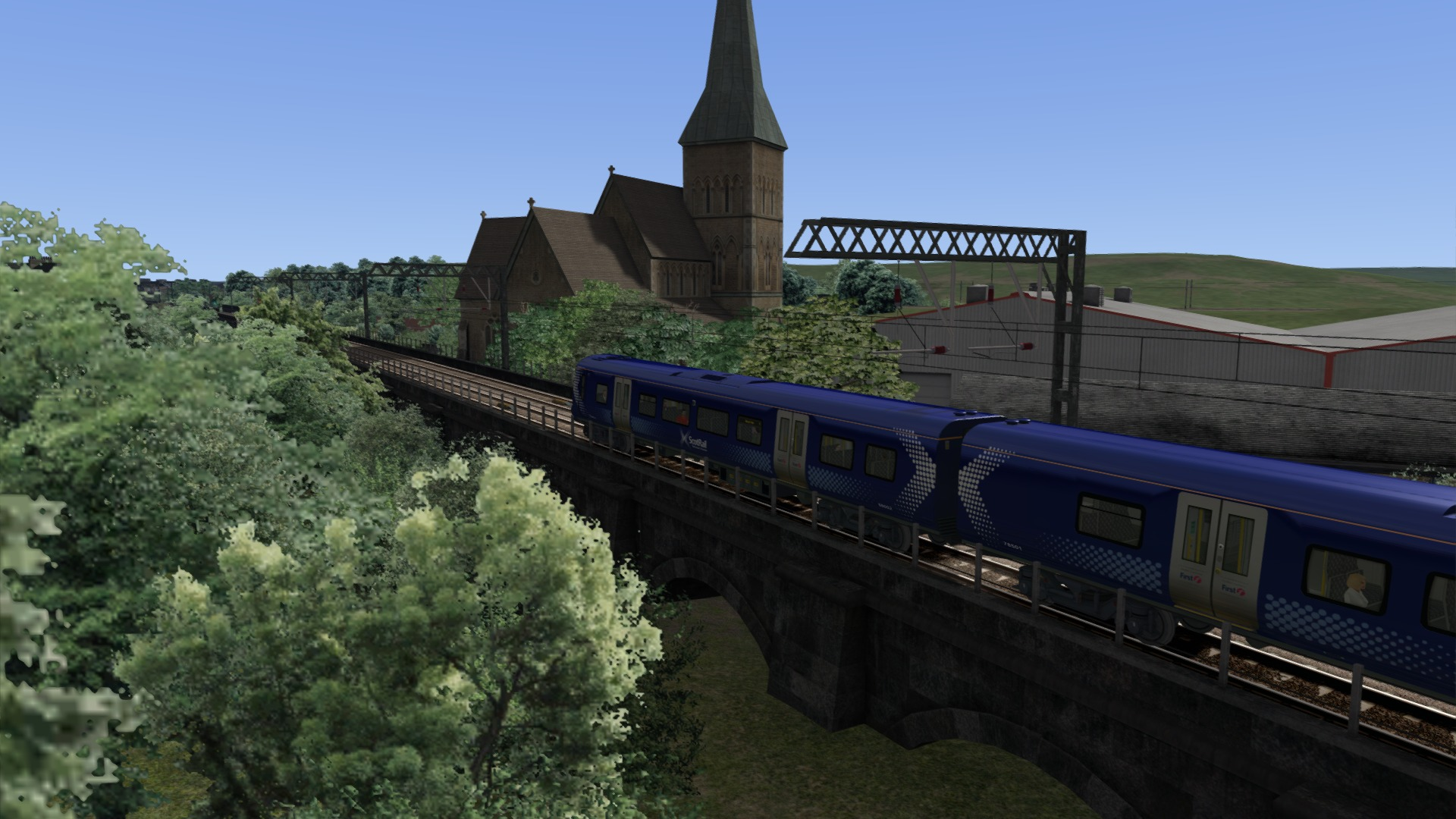 Train Simulator: Glasgow Airport Rail Link Route Add-On screenshot