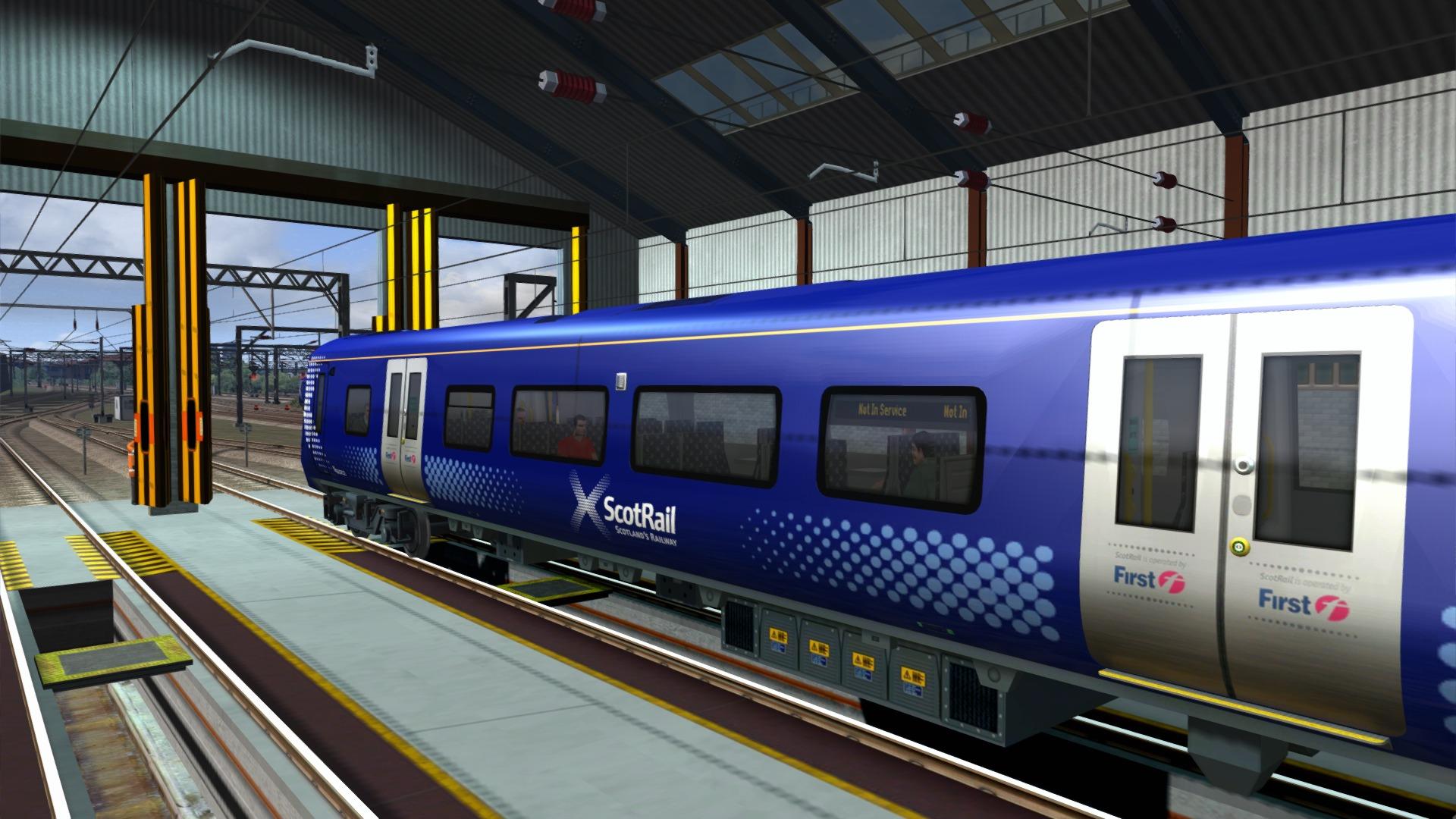 Train Simulator: Glasgow Airport Rail Link Route Add-On screenshot