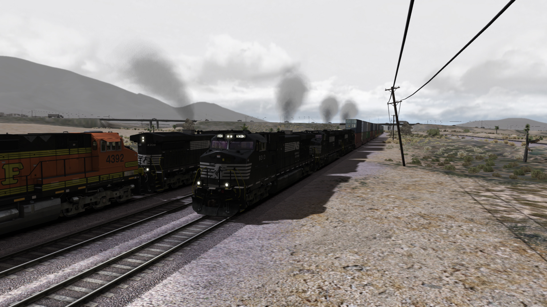 RailWorks BNSF Dash 9 Pack screenshot