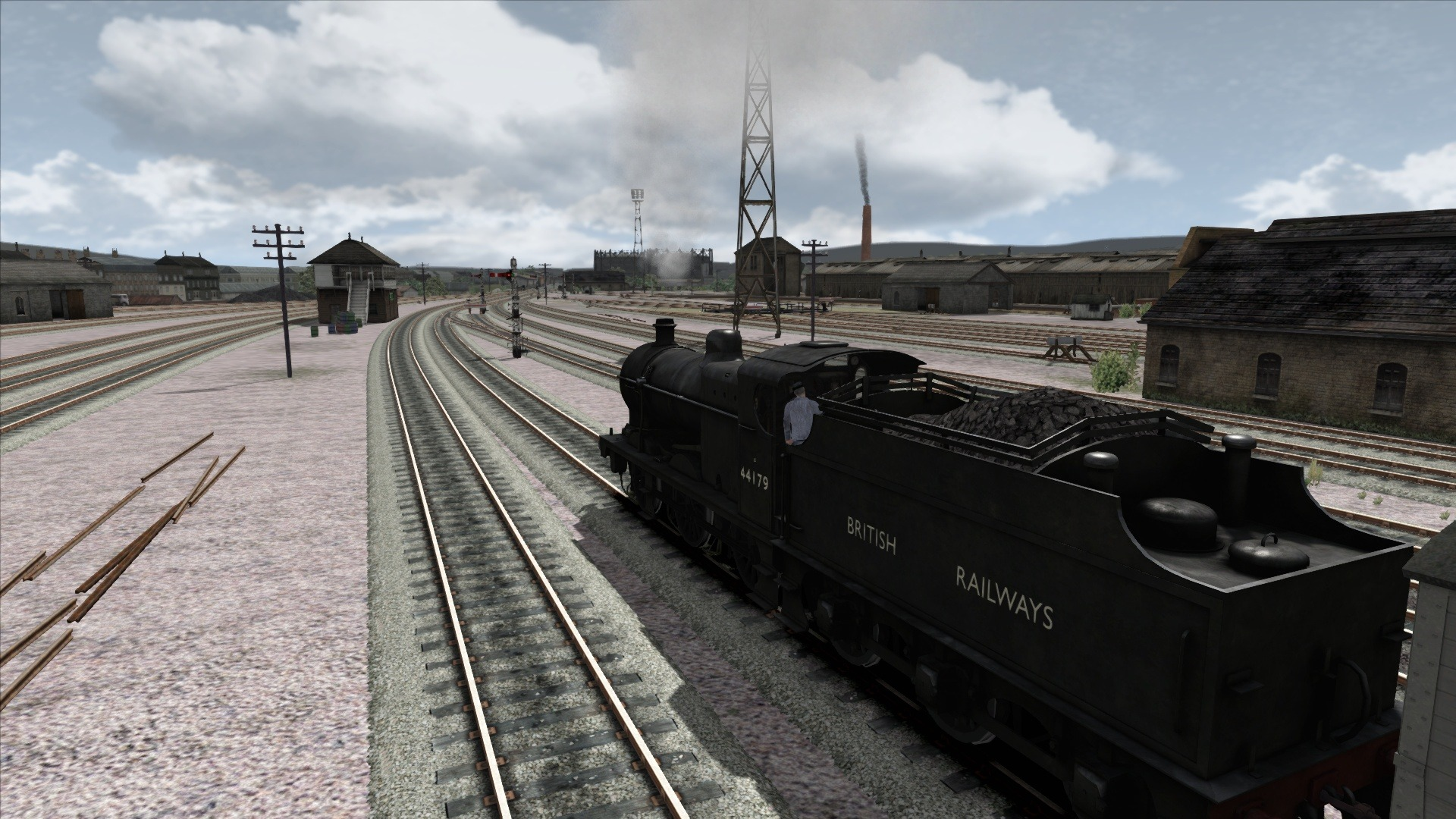 Train Simulator: Fowler 4F Loco Add-On screenshot
