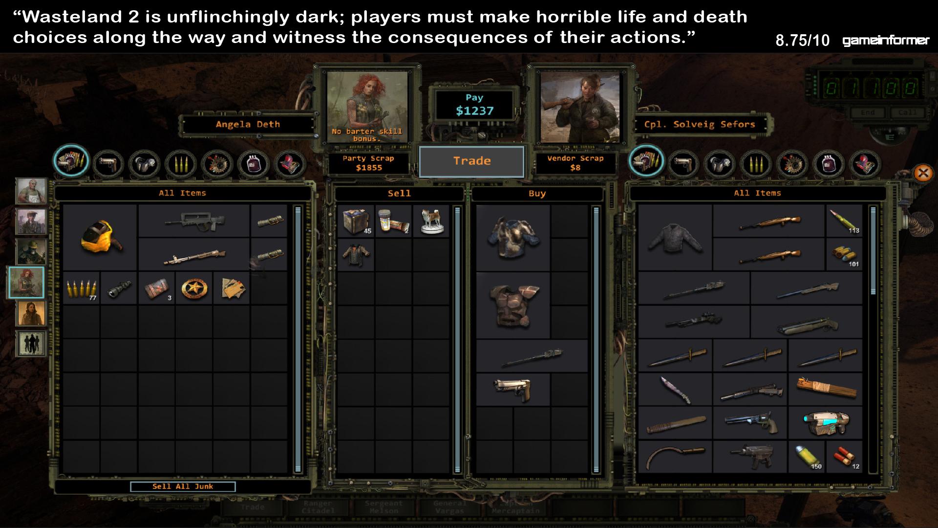 Screenshot of Wasteland 2 Repack