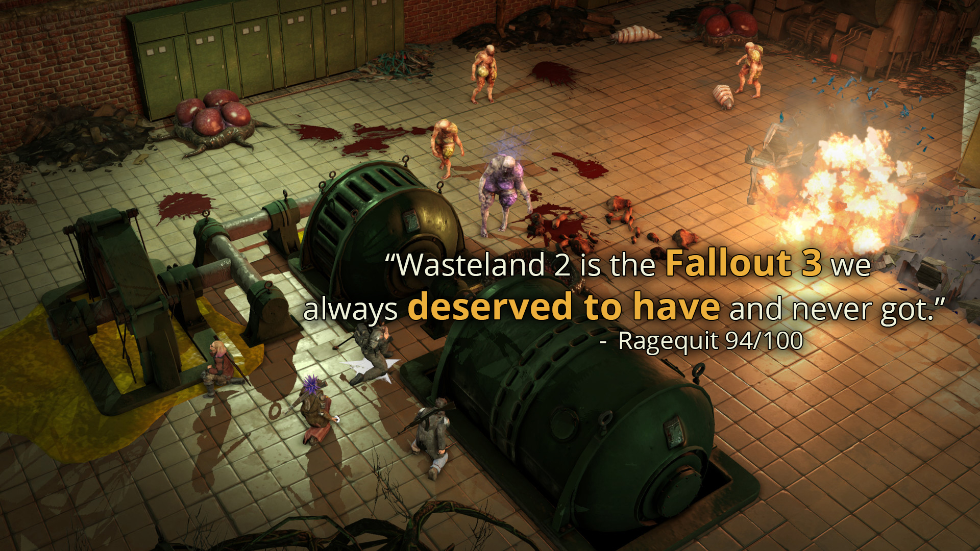 Wasteland 2: Director's Cut (RUS/ENG/MULTI7) [Repack]
