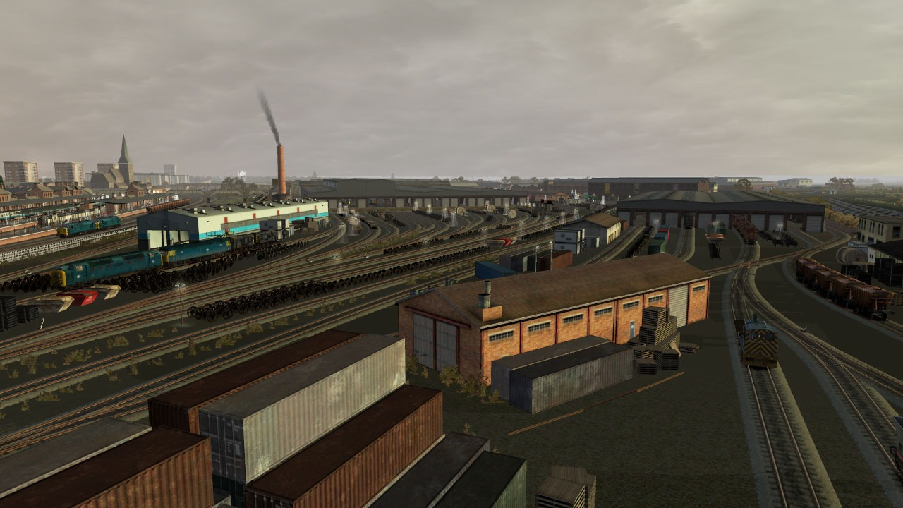 Train Simulator: Doncaster Works Route Add-On screenshot