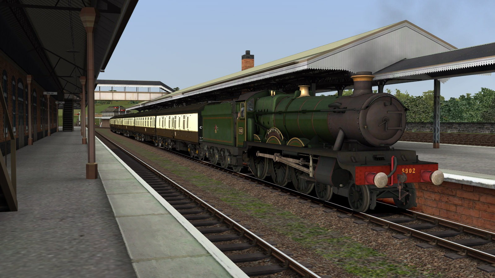 Train Simulator: Falmouth Branch Route Add-On screenshot