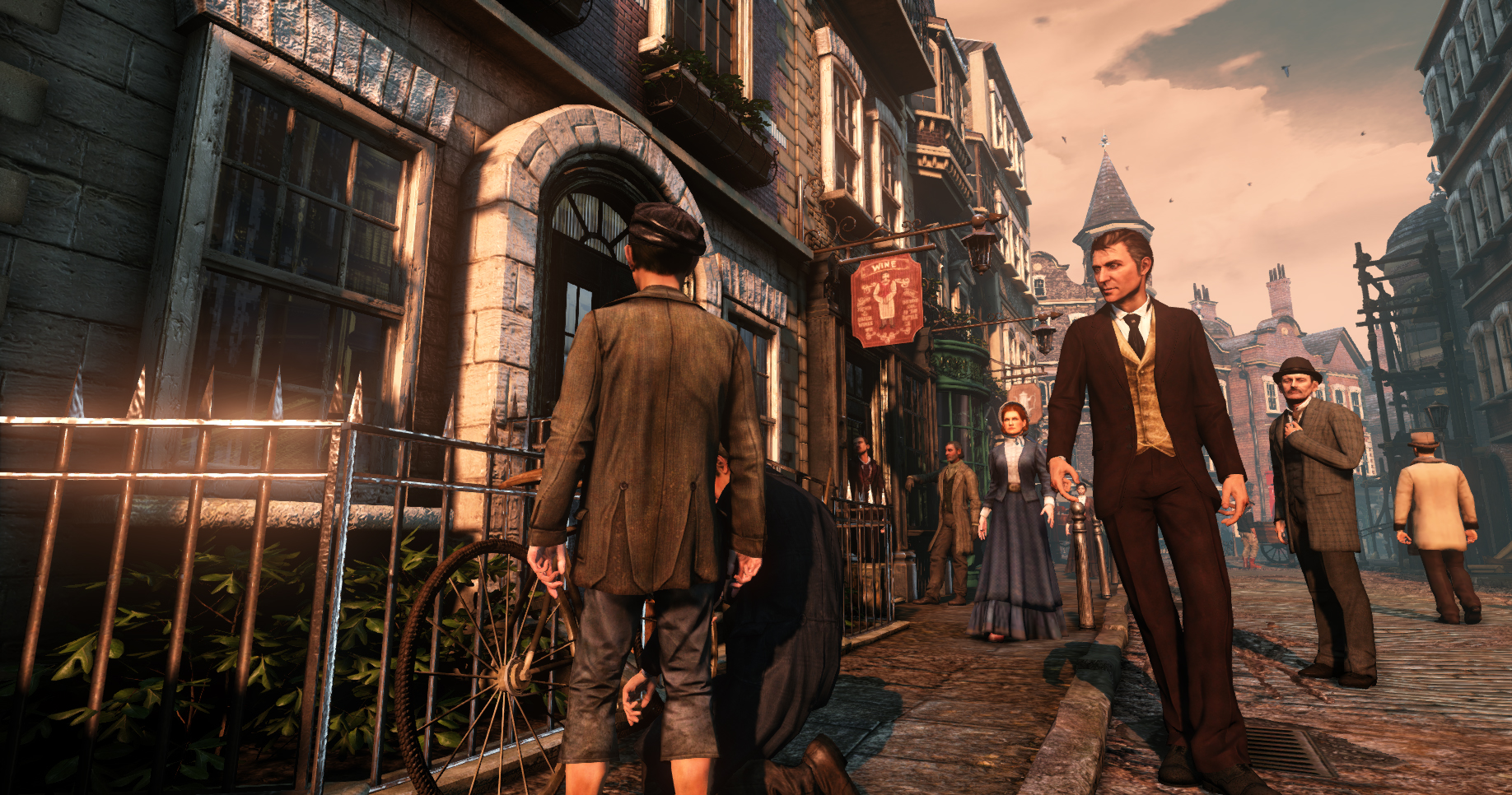 Sherlock Holmes: Crimes and Punishments Screenshot 1