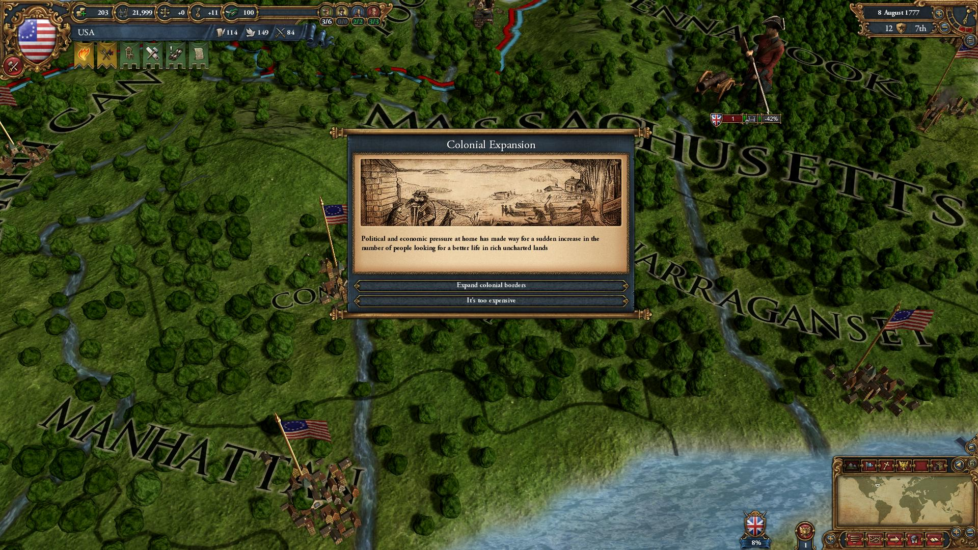 Europa Universalis IV: American Dream screenshot