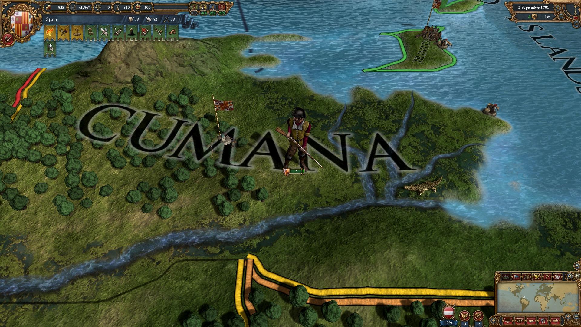 Europa Universalis IV: Conquistadors Unit pack screenshot