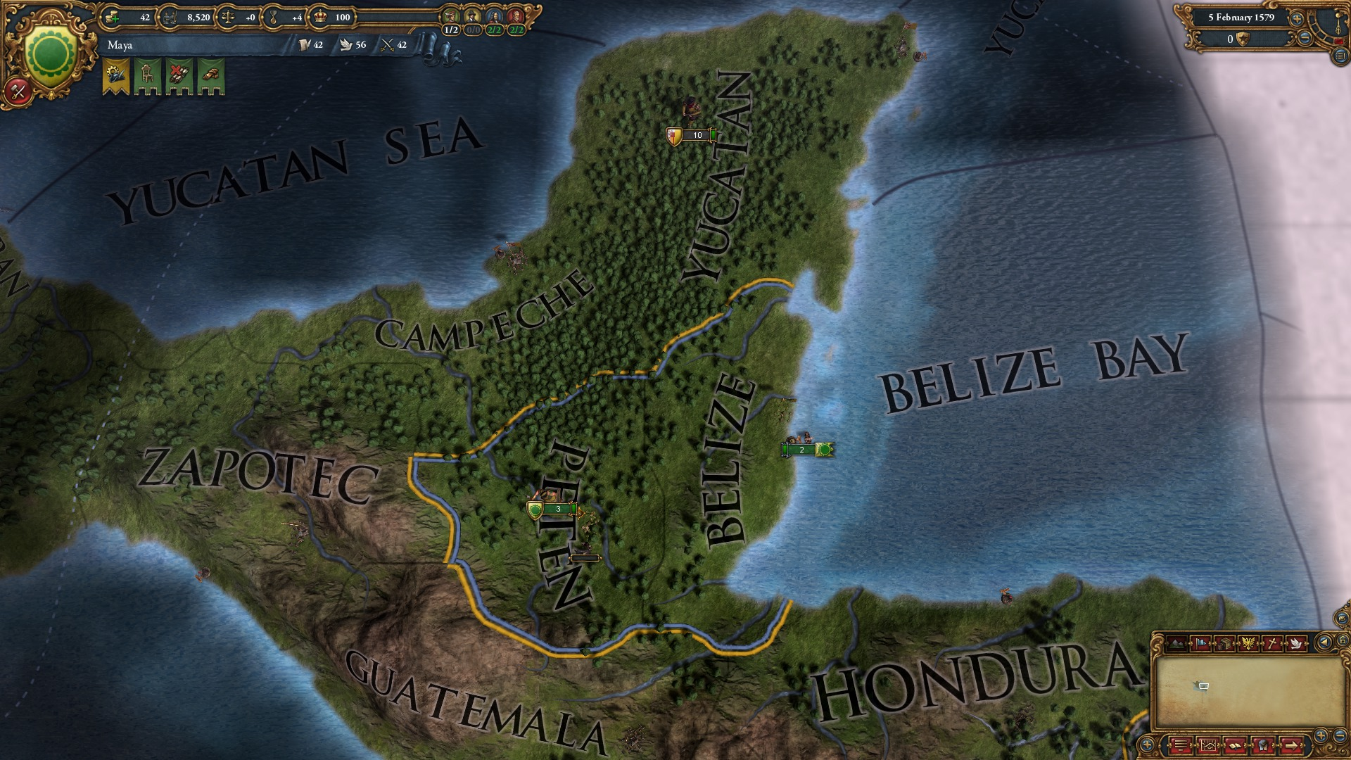 Europa Universalis IV: Songs of the New World screenshot