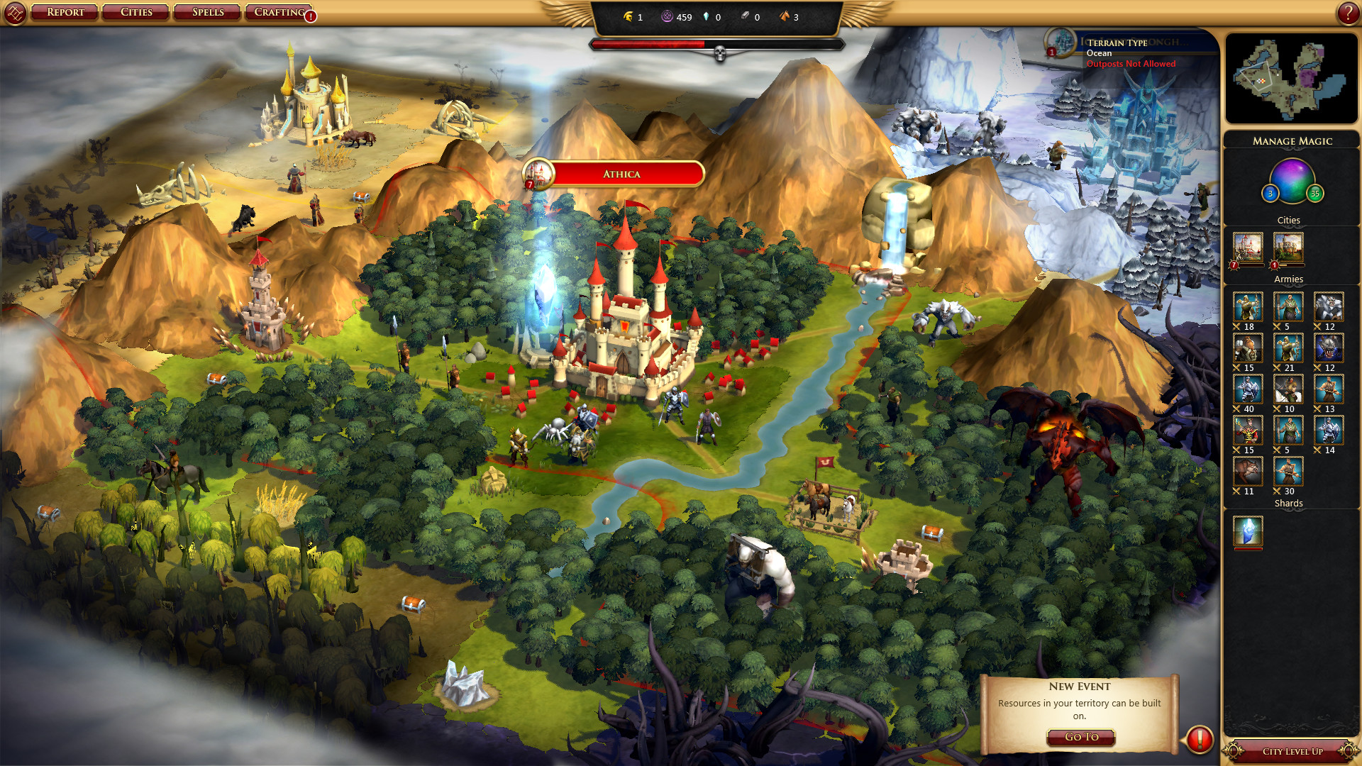 Sorcerer King screenshot 3
