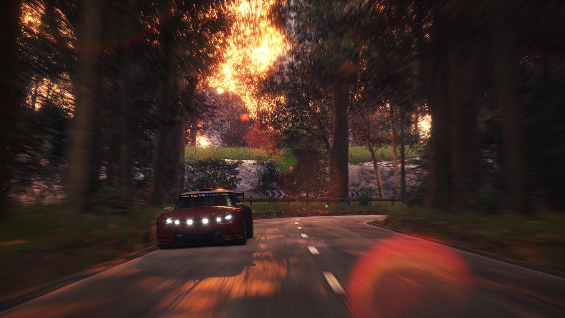 TrackMania² Valley screenshot