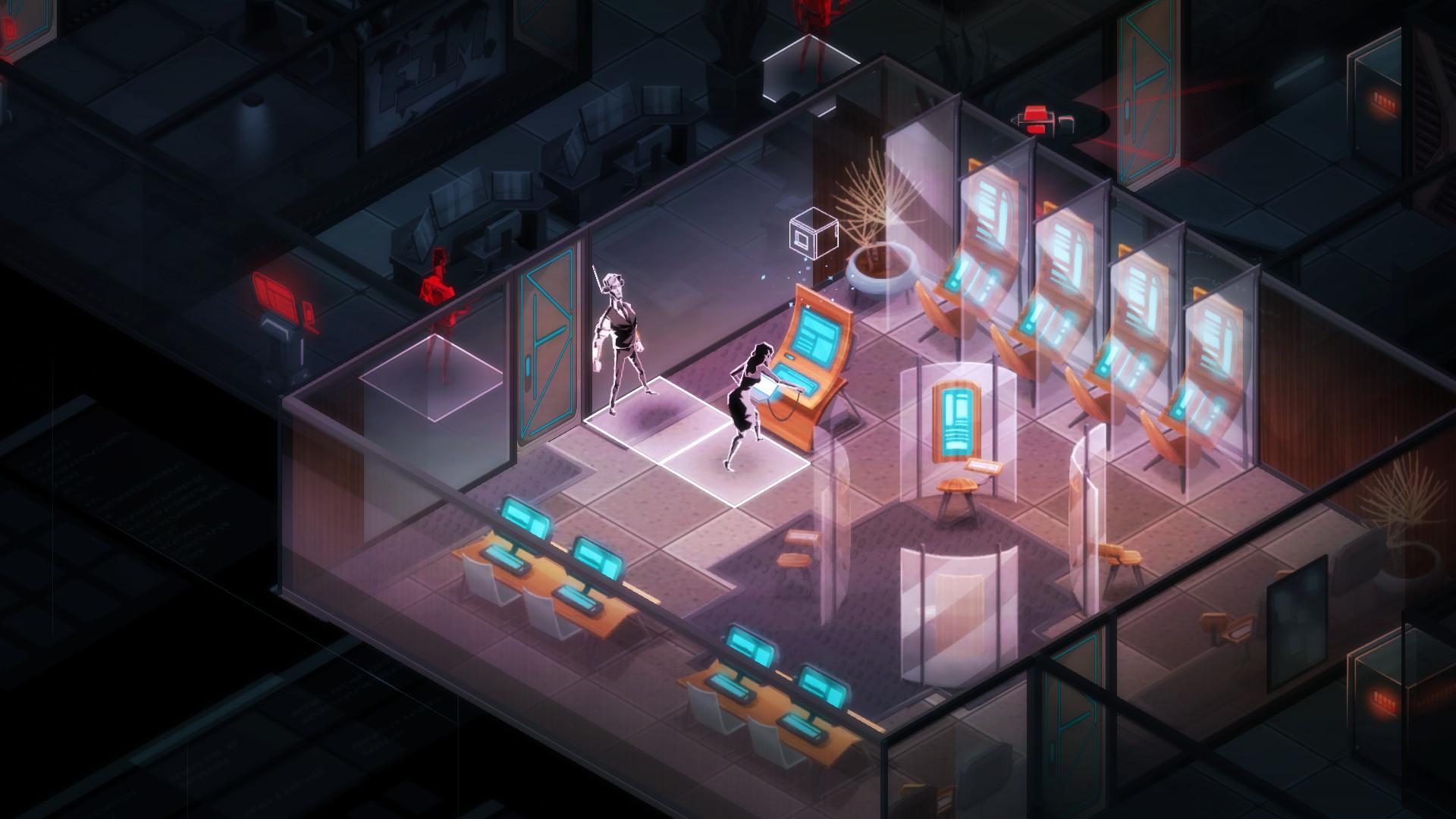 Invisible, Inc. Screenshot 2