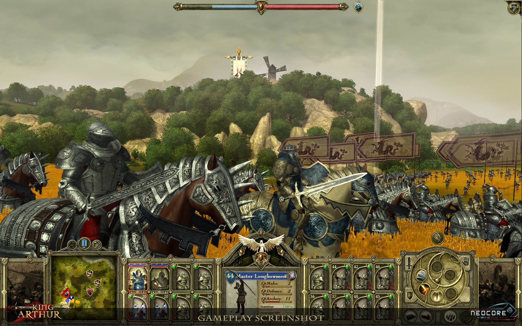 King Arthur - The Role-playing Wargame screenshot