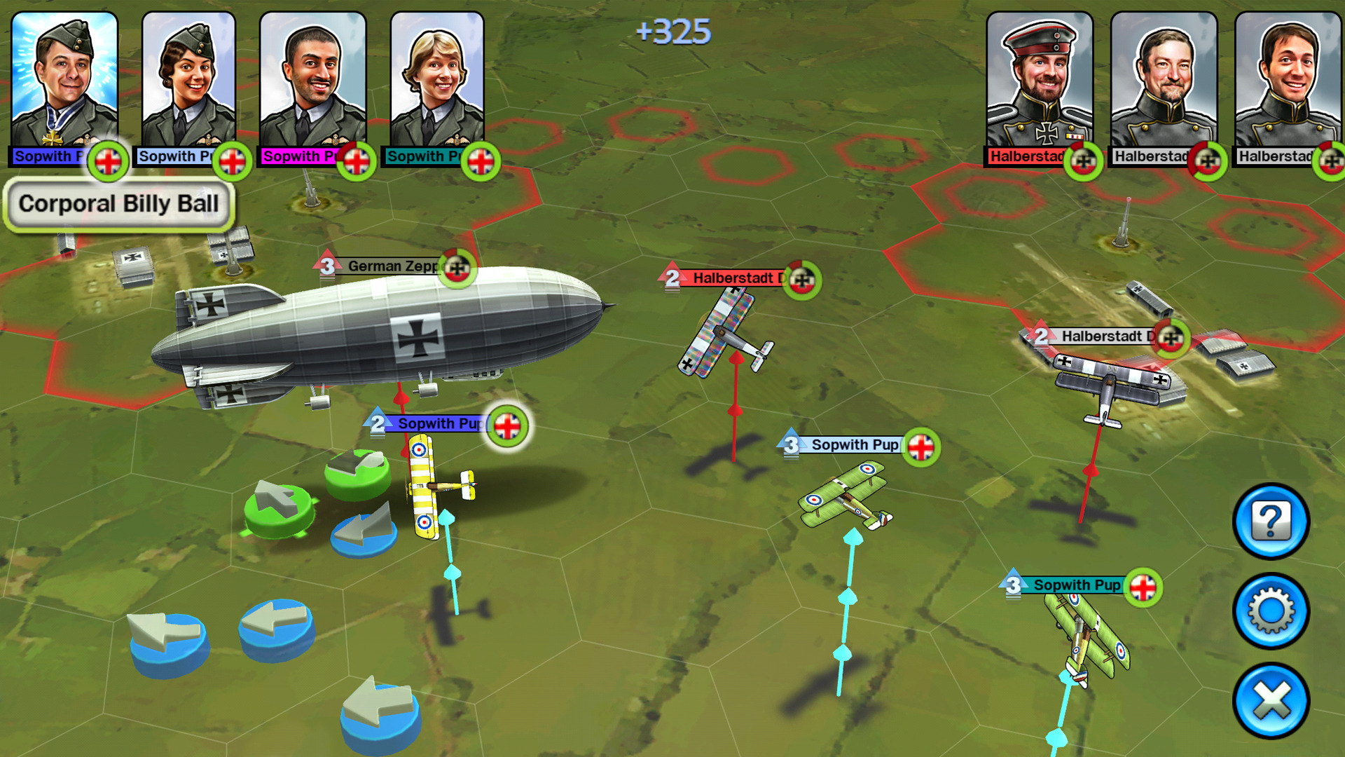 Sid Meier's Ace Patrol screenshot