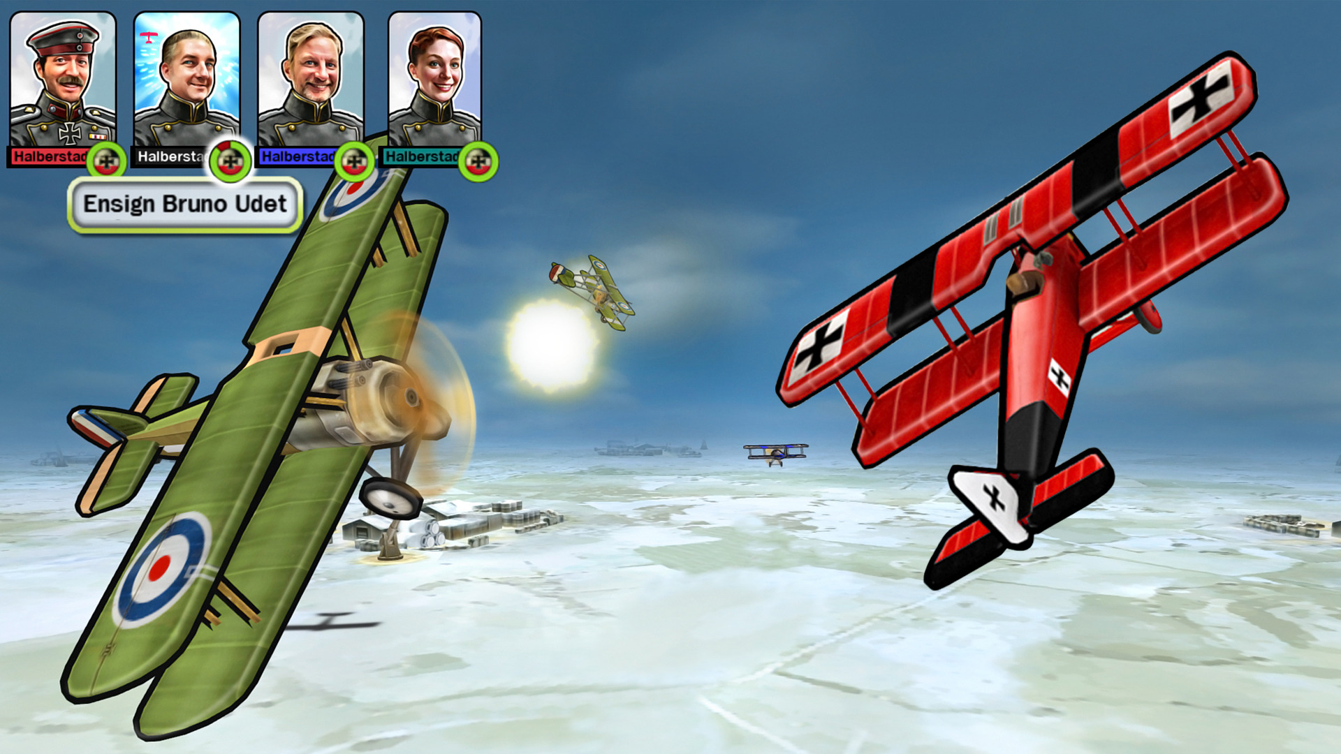 Sid Meier's Ace Patrol screenshot