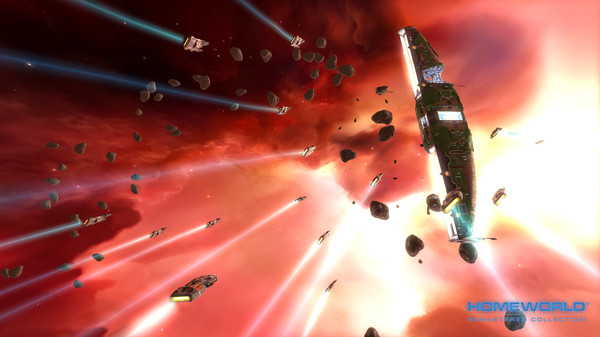 Homeworld Remastered Collection PC Game CODEX Download