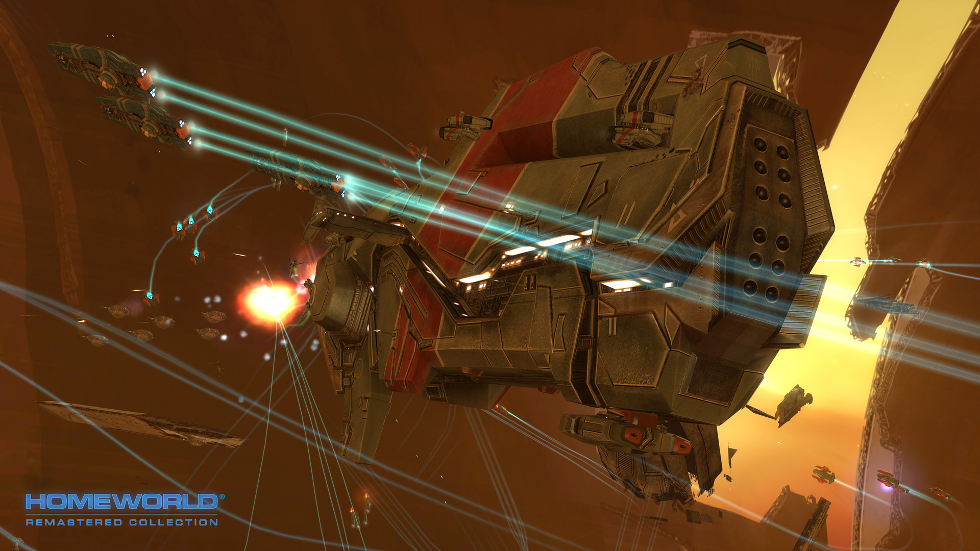 Homeworld Remastered Collection screenshot 2