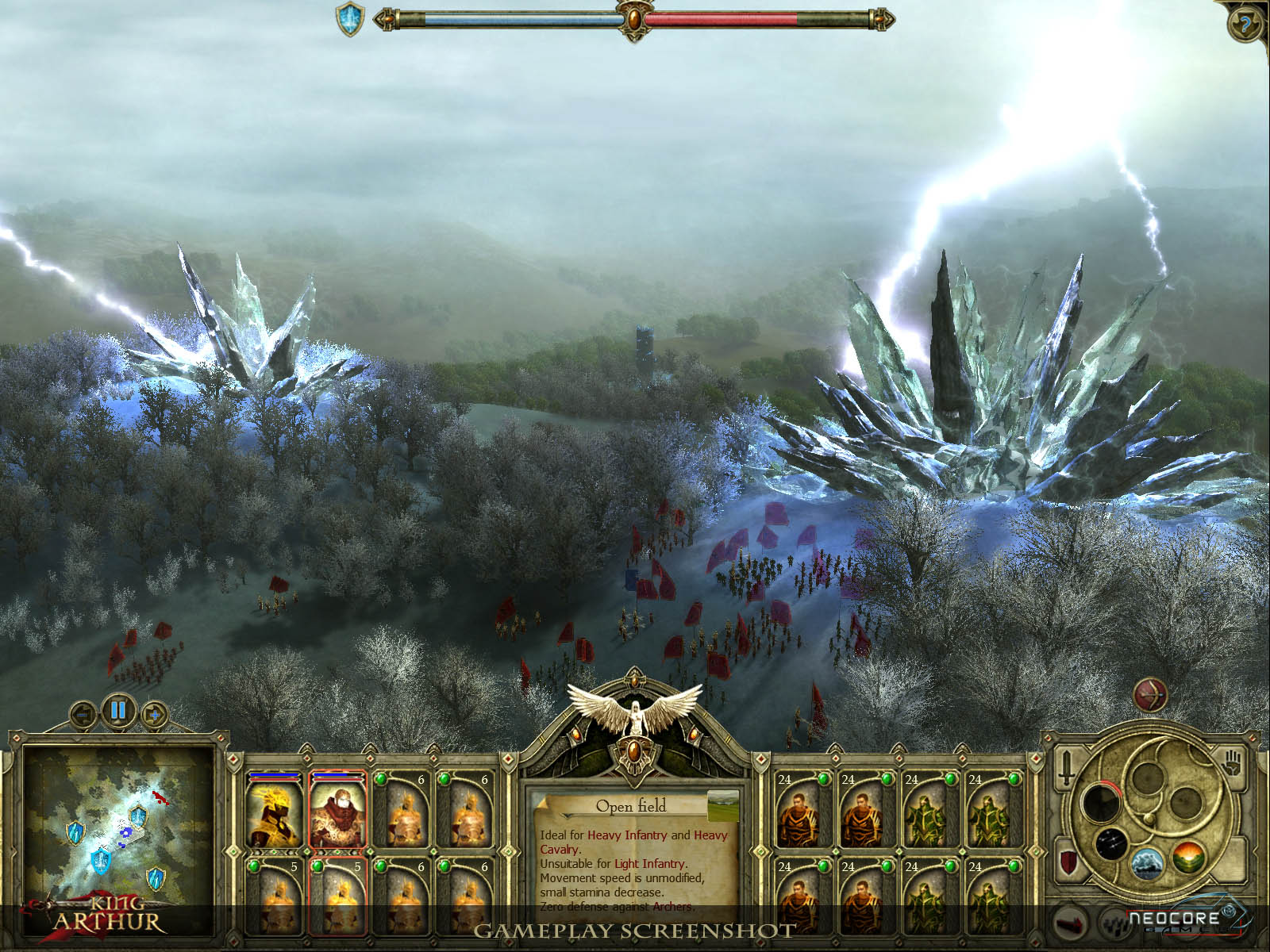 King Arthur: Legendary Artifacts DLC screenshot