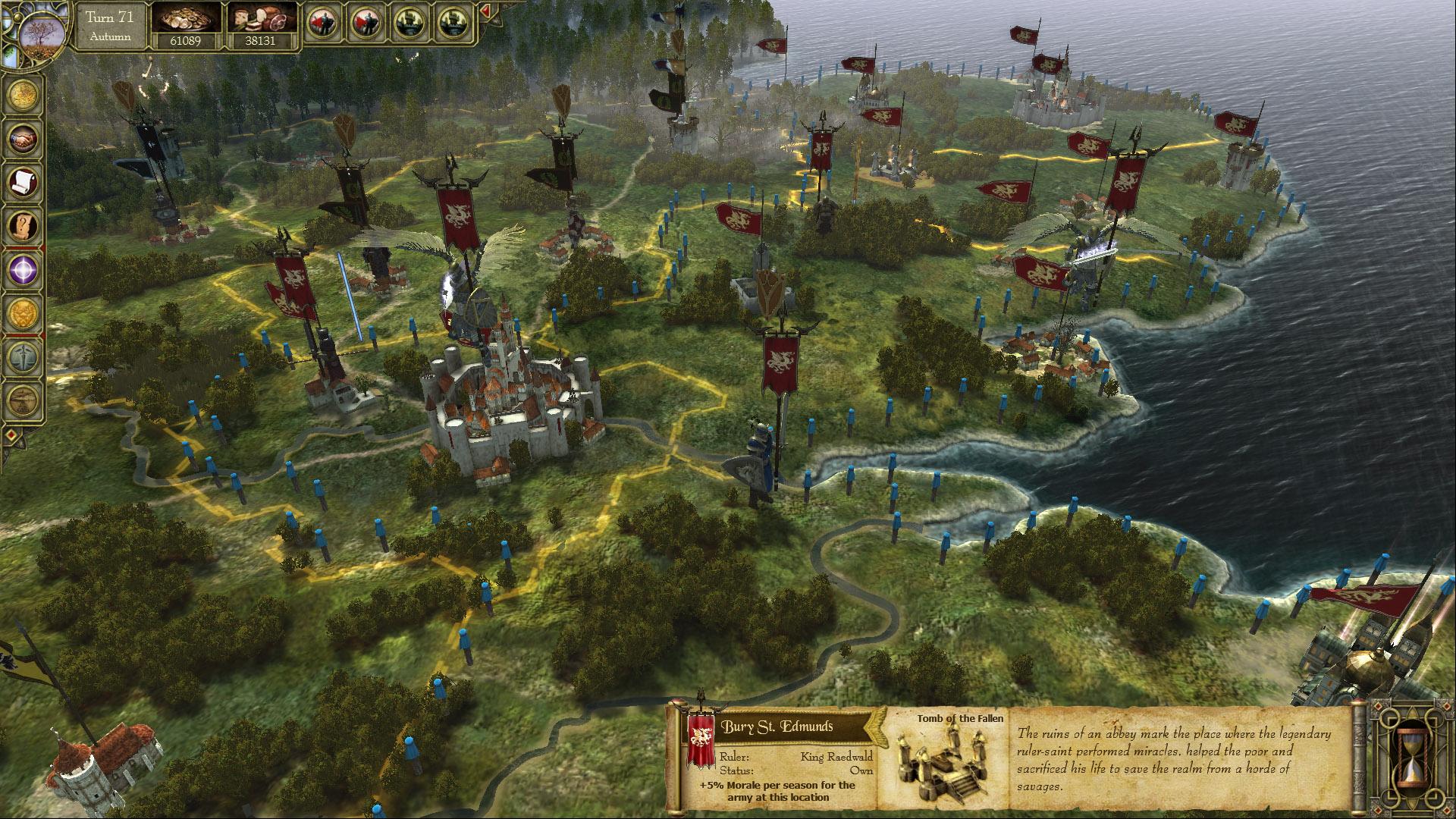 King Arthur: The Saxons screenshot