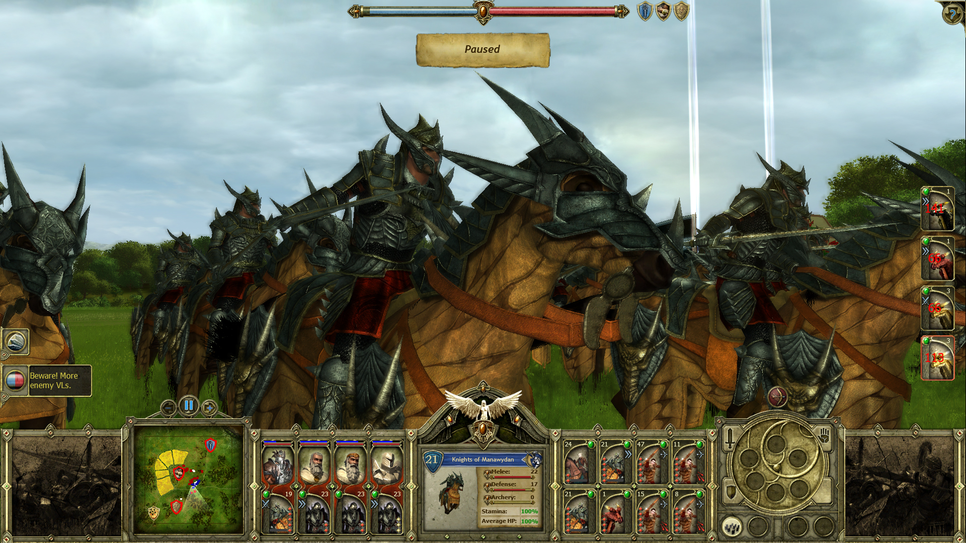 King Arthur: The Druids screenshot