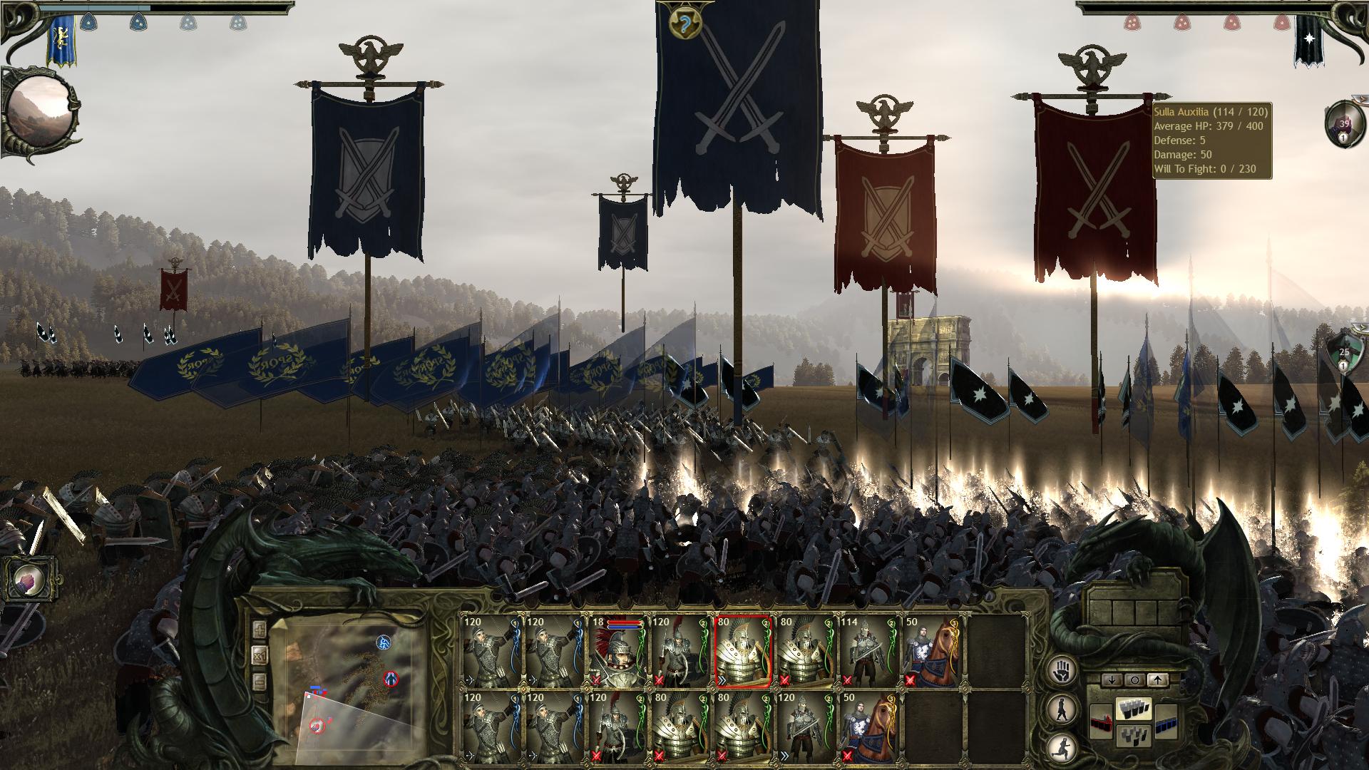 King Arthur II: The Role-Playing Wargame screenshot