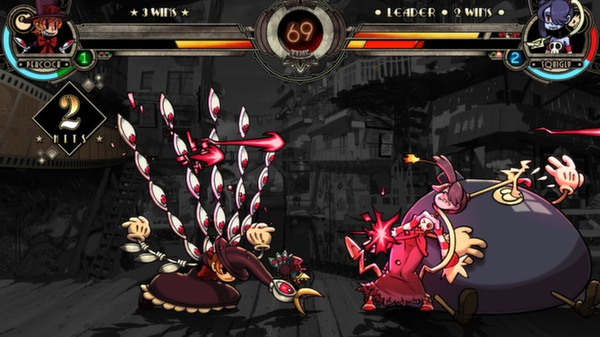 SKULLGIRLS ( 2D Anime Fighting Game ) SINGLE LINK with UPDATE
