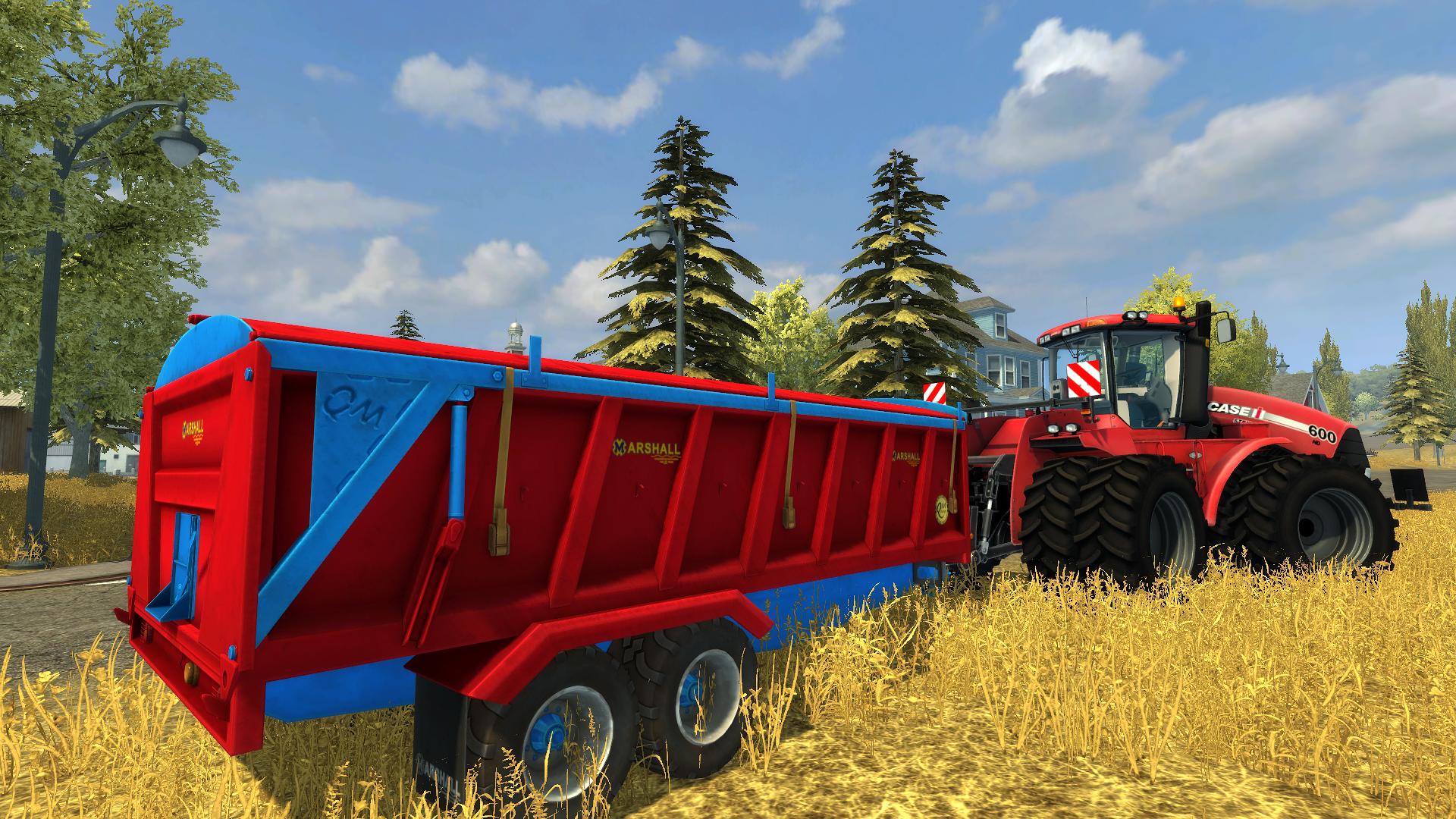 Farming Simulator 2013: Marshall Trailers screenshot