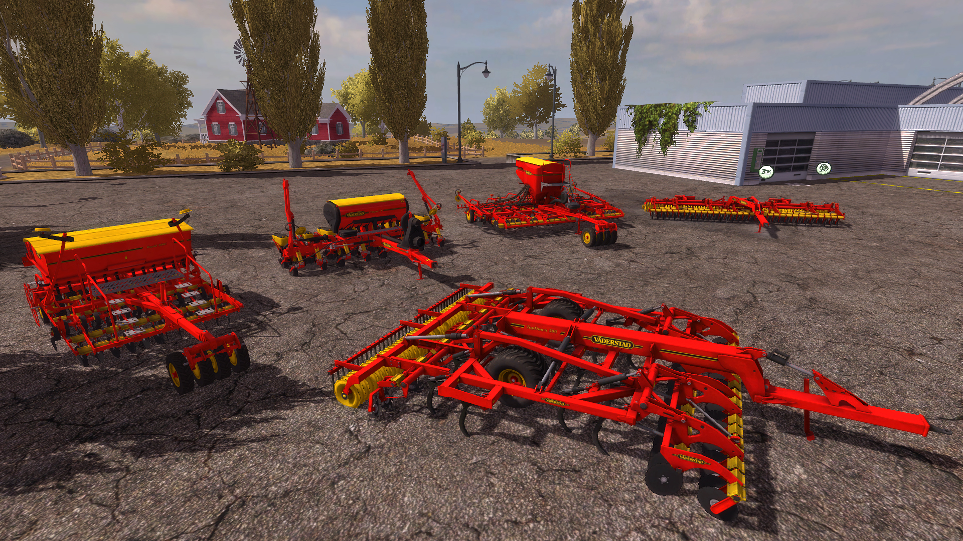 how to play farming simulator 2013