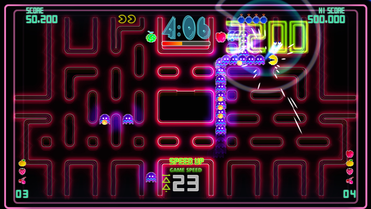 Pac-Man Championship Edition DX+: Mountain Course screenshot