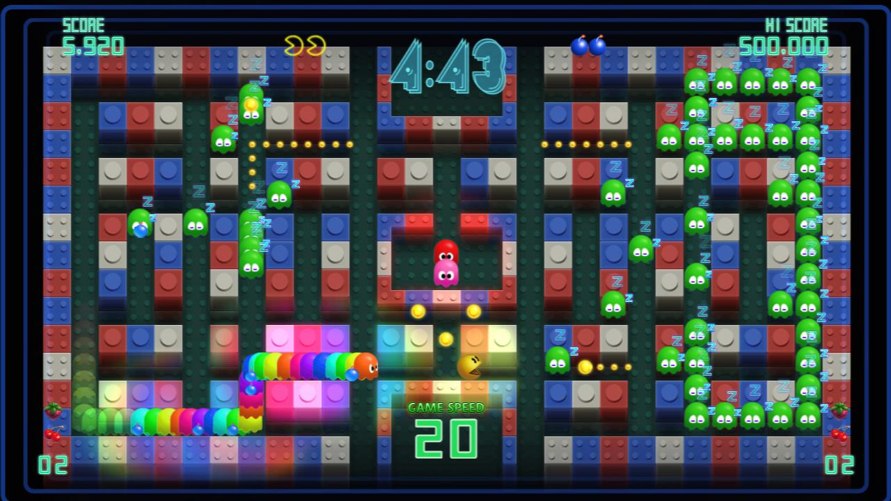 Pac-Man Championship Edition DX+: Big Eater Course screenshot