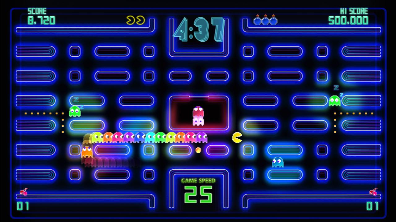 Pac-Man Championship Edition DX+: Championship III & Highway II Courses screenshot