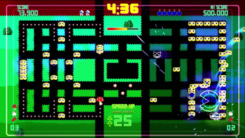 Pac-Man Championship Edition DX+: Dig Dug Skin screenshot