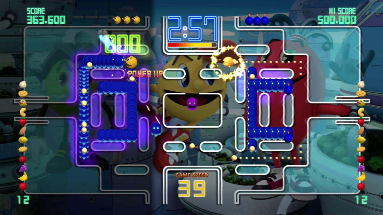 Pac-Man Championship Edition DX+: Pac is Back Skin screenshot