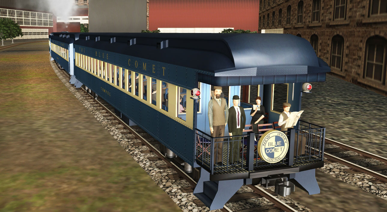 Trainz Simulator DLC: Blue Comet screenshot