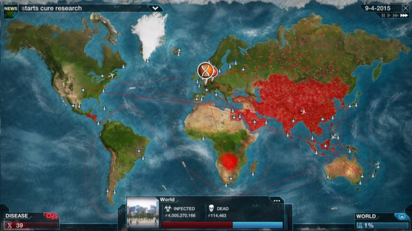 Plague inc evolved v 0 9 0 7