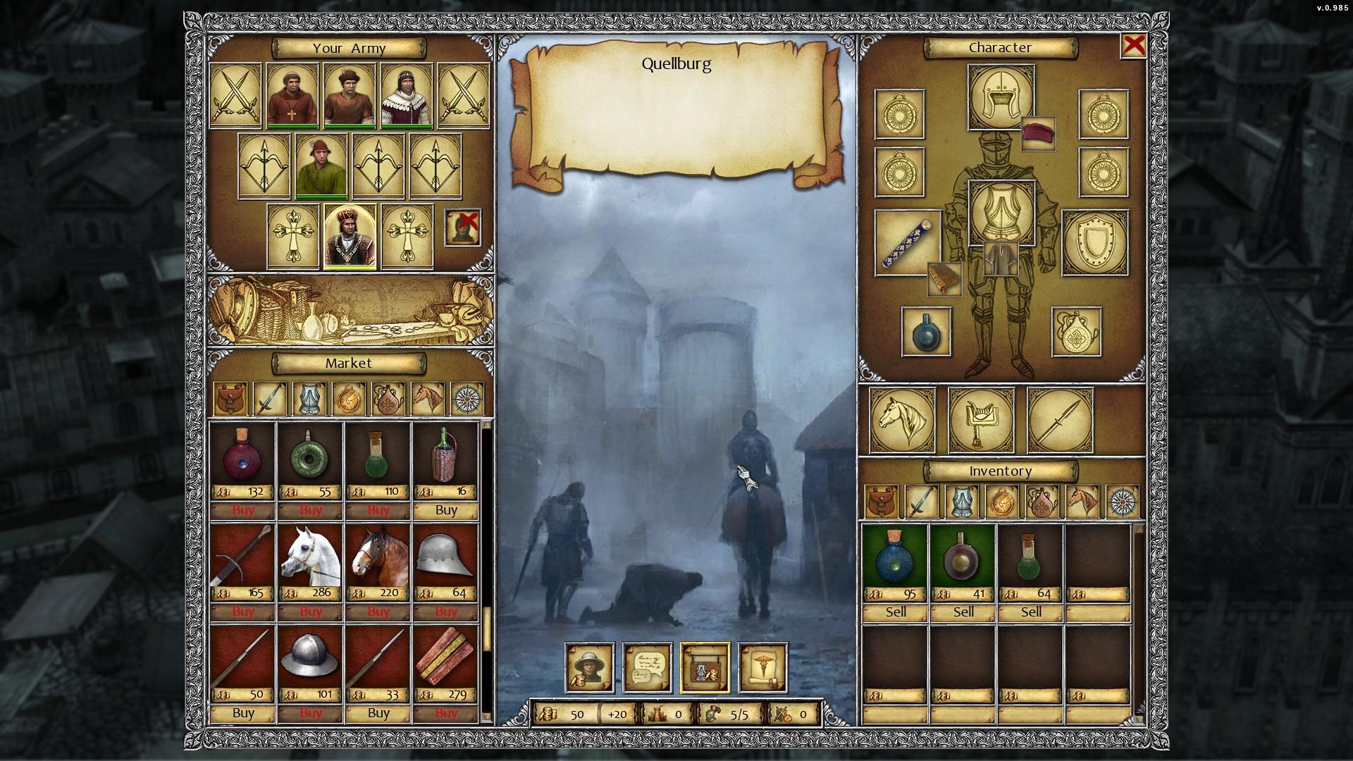 Legends of Eisenwald screenshot