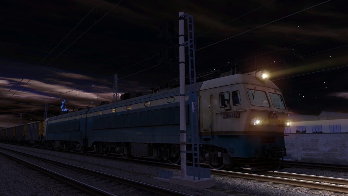 Trainz Simulator DLC: SS4 China Coal Heavy Haul Pack screenshot