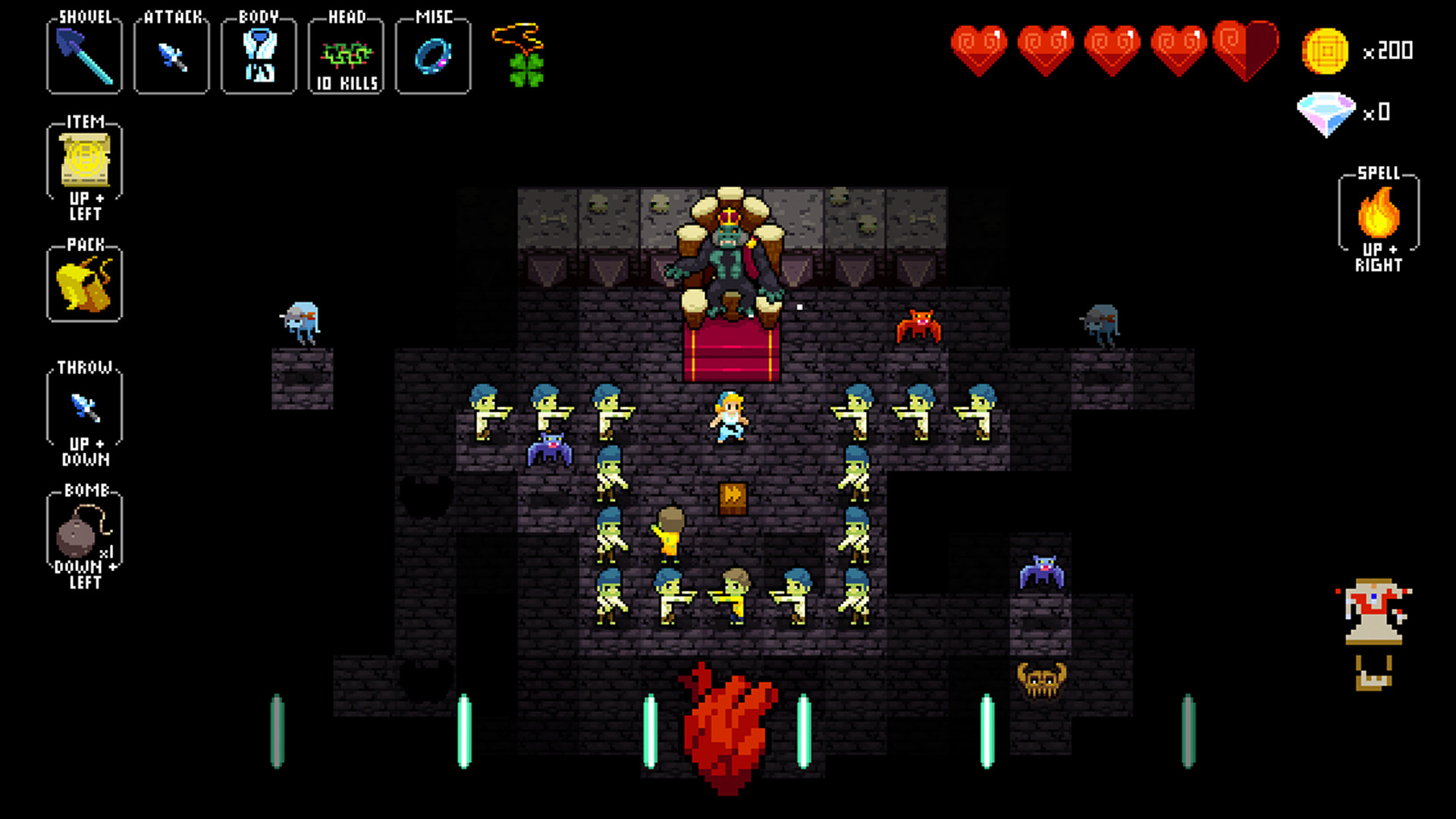 Crypt of the NecroDancer screenshot